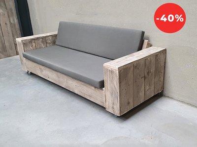 Loungebank ORIGINAL + WIELTJES 180 + Anthracite